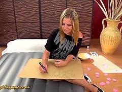 lesbian slippery nuru massage