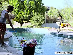 pool guys white cock fucking ana foxx sideways