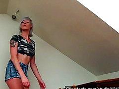 Gemma versus the Singapore prison cane.