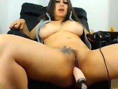 to big, webcam, natural tits, dildo, toy