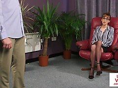 femdom, instructions, voyeur, video, british