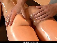 MomsWithBoys - MILF Eva Karera Oiled And Ready For Anal Fuck