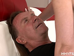 elder fucker ivan stone drills anus of sweet looking blonde ashlee cox