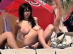 amateur public nudity at kappa beach part 1
