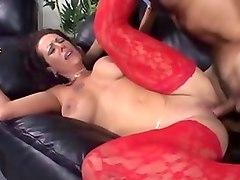 Horny pornstar Anjelica Lauren in crazy blowjob, cunnilingus xxx clip