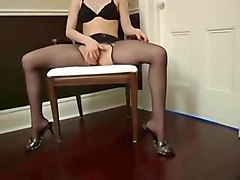 pantyhose asian solo and lesbian