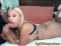 my milf exposed busty wife in fishnet bodystockings fucked h