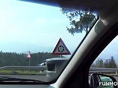 blowing an austrian hitchhiker