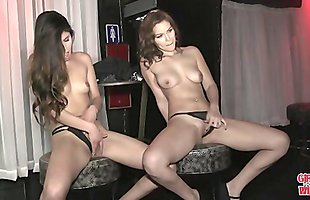 GIRLS GONE WILD - A Couple Of Hot, Young BFFs Getting Freaky In The Club