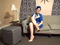 caroline pierce flight attendant