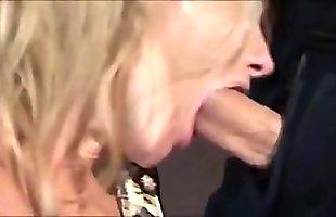 Forced Blowjob 3 - Mature Blonde
