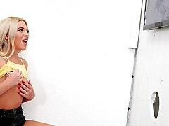 Rharri Rhound Learns Head Game On A BBC - Gloryhole