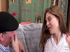 casting young hairy french brunette analyzed n facialized