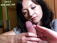 Maya femdom edging, ruined orgasm and postorgasm torture
