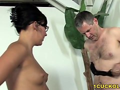 ivy winters humiliates cuckold and fucks black dick