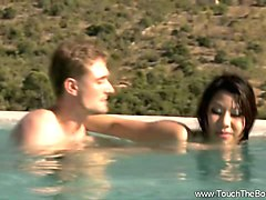 asian milf relaxing nuru massage