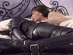 PVC Slut Cries From Her Fear And Terror