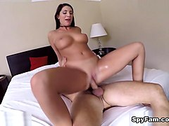 August Ames in Cumming For My StepBrother - SpyFam