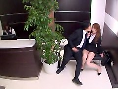 Fabulous Japanese chick Misaki Tsukishima, Rui Saotome in Best Facial JAV movie