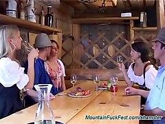 german mountain anal fuck fest