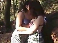 teen, amateur lesbian, brunette, fingering, lesbian teens