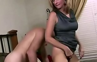 slut sexy mom seduces her stepson