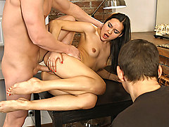 Brian & Aziza & Jonathan in Oops You Are A Cuckold Now - SellYourGF