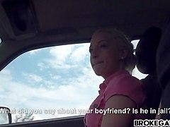 Brooke Anastasia Blonde Takes A Free Ride