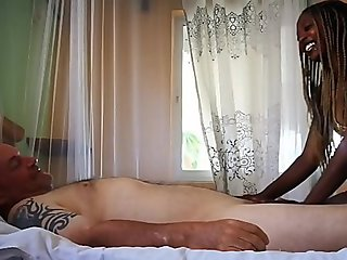 Best HD Ebony massage  fuck and cum in mouth