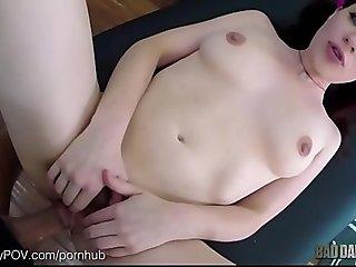 Please Cum Inside Me, daddy I'_m A Virgin!