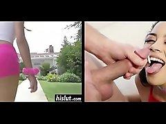 Maya Bijou Split-Screen Cumshot Compilation/Cumpilation