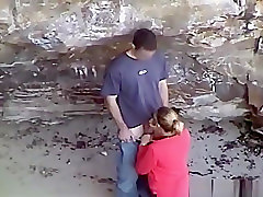 Girl sucked dick boy