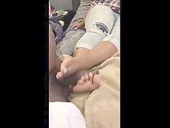 ebony foot work