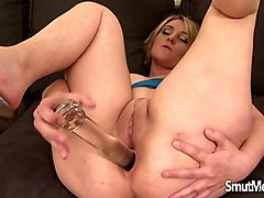 milf luisa takes black dick in her ass