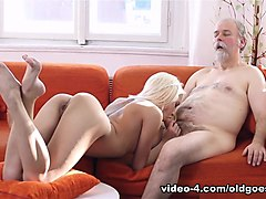 Incredible pornstar in Fabulous Oldie, College sex video