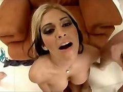 Incredible pornstar Carmel Moore in exotic threesomes, blowjob adult video