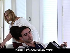 badmilfs - learning how to fuck from his step-mom