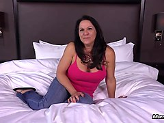 anal fucking big boobs gilf gets pussy creampie
