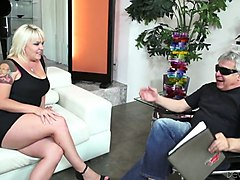 old impotent enjoys watching how his friend fucks tattooed hooker missy monroe