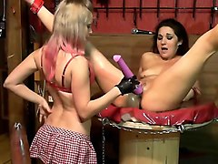 lesbian bdsm bondage fetish