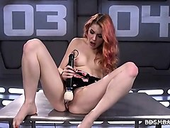 machine fucking solo with amarna miller