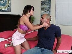 alluring babe mia lelani is impaled on hard and meaty penis