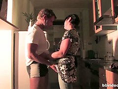 ganzgeil.com german milf taking a big dick