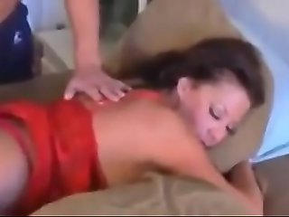 Stepson Wakes Her Up For A Creampie