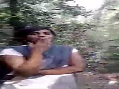 desi lesbo girls smoking in jungle