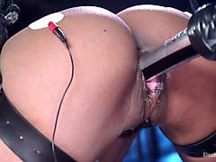 mistress, fucked, in, face, latex fuck