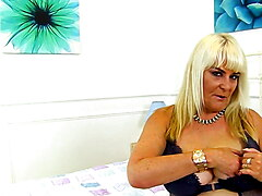 English gilf Christina X keeps her fanny sexually vibrant