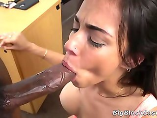 Busty Latina Wannabe Pornstar Taught A Lesson By BBC