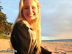 Scarlett Sage in Virtual Vacation Movie - ATKGirlfriends