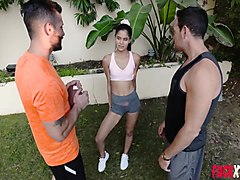 katya rodriguez in slutty petite gets laid